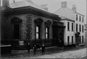 Frudd's Bank where Hudson Was Employed